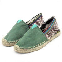 cotton fabric uk - Lovers s Loafers Canvas Shoes New Man amp Woman UK Flag Shoes Flats Plus size sames as picturesWS