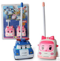 best toy walkie talkies - Korea Robocar Poli Robot Car Toy Walkie Talkies in blister packaging Best Gifs For Kids