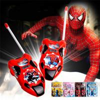 Wholesale Cartoon Children Walkie Talkie Toys Electronic Intercom Children Interphone for Kid Gift