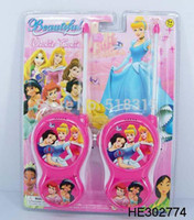 Wholesale New Original Children Princess Diecasts Toy Walkie Talkies From Factory Outlets Funny Toys For Children Gift