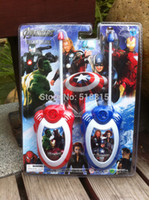 Wholesale New Original Children Avengers Diecasts Toy Walkie Talkies From Factory Outlets Funny Toys For Children Gift