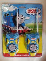 battery christmas train - Retail Tomas Train Intercom Kids Cartoon Interphone Toy Walkie Talkies Baby Boys Electronic Toy Christmas Gift