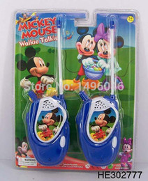 Wholesale-Free Shipping Original Children MK Mouse Toy Walkie Talkies Diecasts ,Funny Toys For Children Gift 1pcs lot