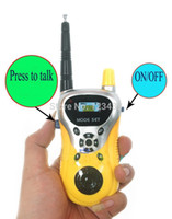 Wholesale Child Kids Yellow Walkie Talkie Parent child Game Mobile Phone Telephone Talking Toy