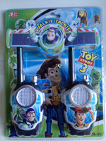 Wholesale Toy Story Buzz Lightyear Children Kids Walkie Talkie Pair Set