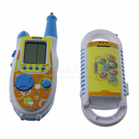 best toy walkie talkies - Best Selling Funny Multifunctional Gaming Walkie Talkies Toy with Mole Attack Game for Child Kids