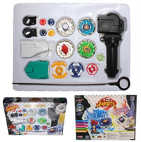 Wholesale Beyblade Metal Fusion Top Rapidity Fight Launcher Master Masters Rare Beyblades Set B New Beyblade Vabiares