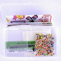 perler beads - Perler Beads mm Fuse DIY Educational Craft Box Mixed Colors EVA Material Opp Bag iron Paper Tweezer Pegboard