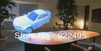 Wholesale On sale Transparent hologram Rear Projection Screen Film for shop window