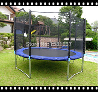 Wholesale ft New latest China amusement Excellent spring kids High Quality Round Sport Trampoline with Safe Net