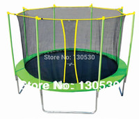 Wholesale Feet Kids Trampoline Trampoline jumping bed in Feet Trampoline with safety enclosure inside net