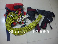 Wholesale jumping trampoline accessories combination safe belt elastic ropes steel buckles