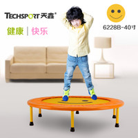 Wholesale home indoor inch spring small jumping bed trampoline for kids elevator casual child trampoline