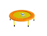 Wholesale Hot Sale Children s household ribbon weaving Foldable inch Trampoline Moq