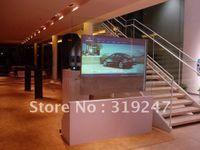 advertising window - square meters Window shpp advertising holographic foil holographic master hologram master