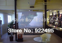 best screen resolutions - m m Best price High Resolution Adhesive Dark Grey Rear Projector Film d Holographic Projection screen a A4 Sample
