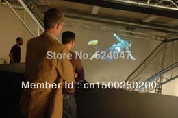 Wholesale Good Price Self adhesive transparent holographic rear projection screen film for advertising Clear rear porjector filmfilm