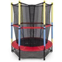 trampoline enclosure net - Rebounder Indoor Exercise quot Round Kids Mini Trampoline Enclosure Net Pad