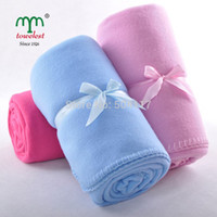 Wholesale New MAOMAOYU Brand Blanket PC CM quot quot Coral Fleece Blanket Solid Throw Beach Camping Travelling
