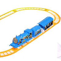 electric train toy - Color B Electric rail toy Set Thomas Train Track Baby Child Educational Auto Car eTrade
