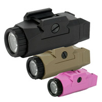 Wholesale SNK High Lumen APL Weapon Pistol MINI Light Tactical Military Airsoft Hunting Flashlight Used In GLOCK DE amp BK amp Pink