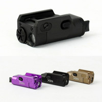 airsoft weapons - SNK High Lumen XC1 Weapon Pistol MINI Light Tactical Military Airsoft Hunting Flashlight Used In GLOCK DE BK Purple