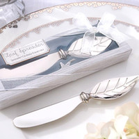 Wholesale New Wedding Favors Butter Knife Dinnerware Cuchillos Para Mantequilla Creative Wedding Gifts For Guests Luxury Fine Butter Knife