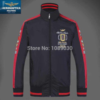 air outerwears - Good Quality spring Brand Aeronautica Militare Jackets Sports Men s polo Outerwears Air Force One jackets Size XXL811