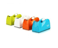 adhesive tape cutter - A Deli VIVID color code series Tape Dispenser Adhesive Tape Holder sellotape cutter colors delivery randomly new