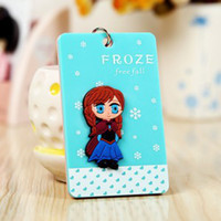 Wholesale BS049 Creative Korea lovely flat card sets bus card sets with a key chain cartoon portable access card packs