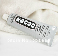Cheap Wholesale-5pcs lot, DIY nail high strength glue,E6000 glue 110ML,3.7 oz Glue Adhesive Glass Bottle Jewelry Industrial Nails