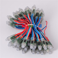 b w pixel - mm WS2801 IC R G B W Wire Cable Led Pixel Module String Digital RGB Full Color Waterproof IP68 DC12V