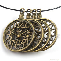 antique jewelry watches - Pocket Watch Metal Bronze Alloy Antique Charms and Pendants Jewelry mm