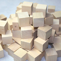 architectural model materials - Wooden Square Cube Block cm Toys DIY Manual Architectural Building Model Wooden Material L Natural Color Wood Chips