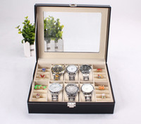 Wholesale jewelry box for watches watch box watch display box for rolex case hours cajas para relojes