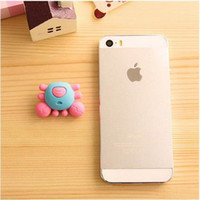 baby prizes - cute office stationery cartoon crab style rubber eraser cartoon animal eraser for baby children prize gifts ARC325