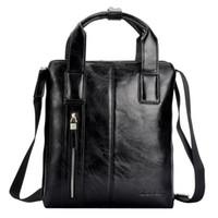attache case - New zefer Genuien Leather Briefcase Attache Case Brief Case male Cowhide Handbag shoulder Messenger Tote Bag