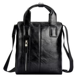 Wholesale New zefer Genuien Leather Briefcase Attache Case Brief Case male Cowhide Handbag shoulder Messenger Tote Bag
