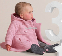 Wholesale 2015 new Children clothing Kids outwear Fashion tench coating NEW VERSION Cotton overcoat Hooded attractive suit NICE CASUALS