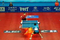 Wholesale world famous professional world match competition Table Tennis Tables pingpong table