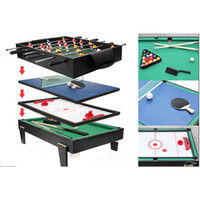 air hockey table game - in Multi Game Table For Children Pool Air Hockey Table Tennis Table Soccer Mini Game Table