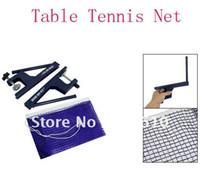 Wholesale quot x quot Blue Nylon Mesh Design Pingpong Table Tennis Net Foldable