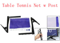 Wholesale Table Tennis M Long Nylon Net w Black Metal Post Stand