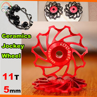 bearings pulleys - price T cycling bike Ceramics Jockey Wheel for Rear Derailleur Pulley bicycle rear derailleur guide pulley bearing