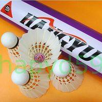 Wholesale 6tubes Genuine HANGYU NO badminton shuttlecocks durable balls Competition level