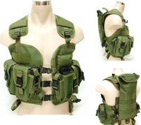 bdu vest - Top Quality BDU coat High density nylon material US Navy Seals water bag tactical vest Army green