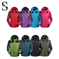 Wholesale Thicken Fishing and Hiking softshell jacket outdoor men women waterproof windproof coldproof For Hiking Camping Ski Fishing suit