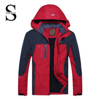 Wholesale Hiking softshell jacket men couple outdoor women waterproof windproof coldproof For Hiking Camping Ski Fishing suit
