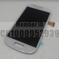 Wholesale LCD Display Touch Screen Digitizer for Samsung Galaxy S3 Mini i8190 White