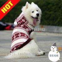 apparel equipment - Large Pet Clothes Dog Supplies Dog Vest Pet Sweaters Spring Rendering Equipment Pet Apparel Woolen